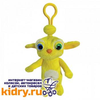 Мягкая игрушка Пупер звукозаписывающая с карабином «Алиса знает, что делать!»