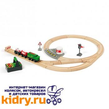 Железная дорога с поездом на р/у BRIO (23 элемента)